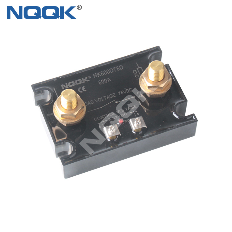 500A 75 V DC CONTROL 32V DC Single Phase SSR NQQK Solid State Relay