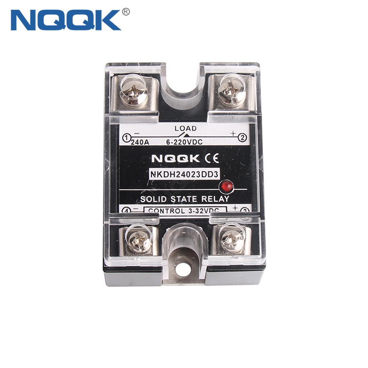 10A 40A 45A 60A 100A 240A Single Phase DC DC SSR Solid State Relay
