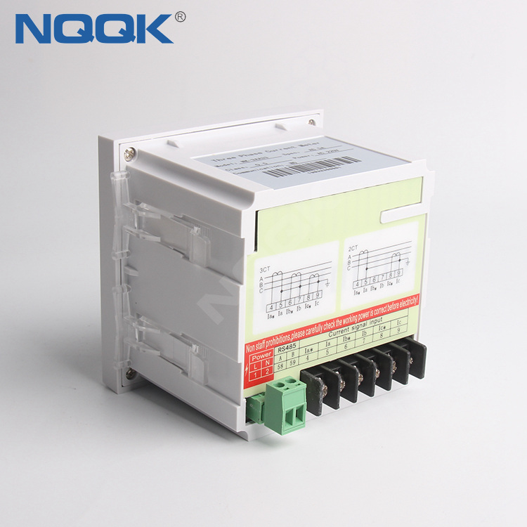 AC 200V 0.5 Class 5A 3 three phase digital ammeter current meter