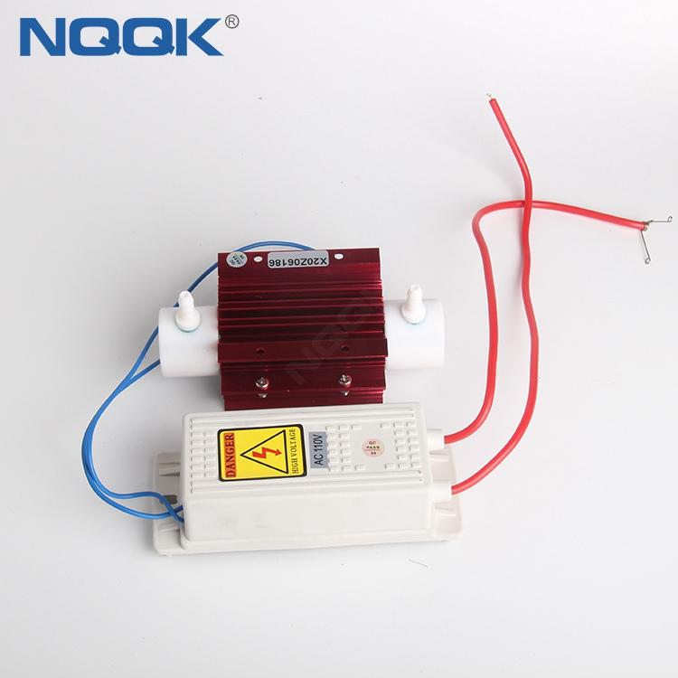 110VAC Air cooling quartz glass tube ozone generator / ozone generator spare parts/ozone cell 3g