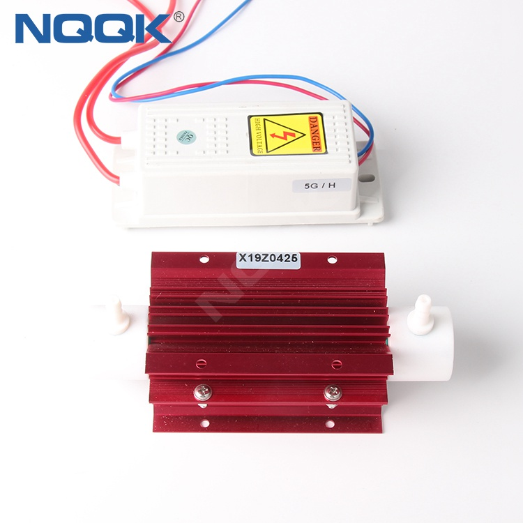 High Concentration Low Temperature 5g 220V 110V Quartz Tube Ozone Generator