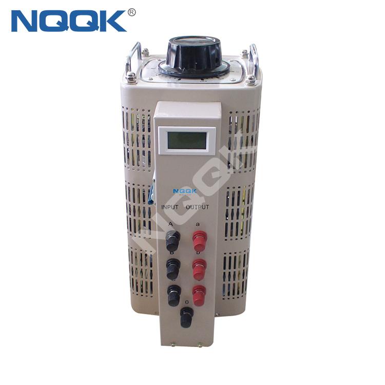 TDGC2 TSGC2 3KVA ~ 60KVA 1Phase 3Phase Series Contact Voltage Regulator