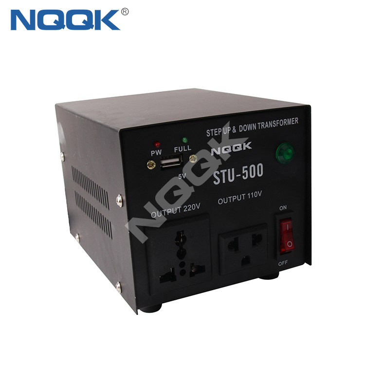 500W USB Power Voltage Converter STU-500 , Voltage Transformer , Step Up And Down Transformer