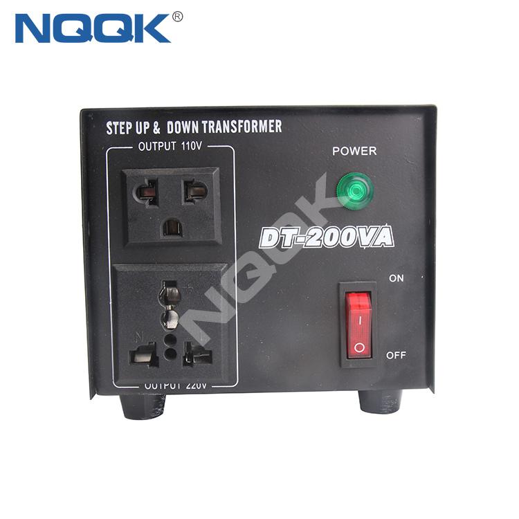 Power Voltage Converter DT-200W , Voltage Transformer , Step Up And Down Transformer