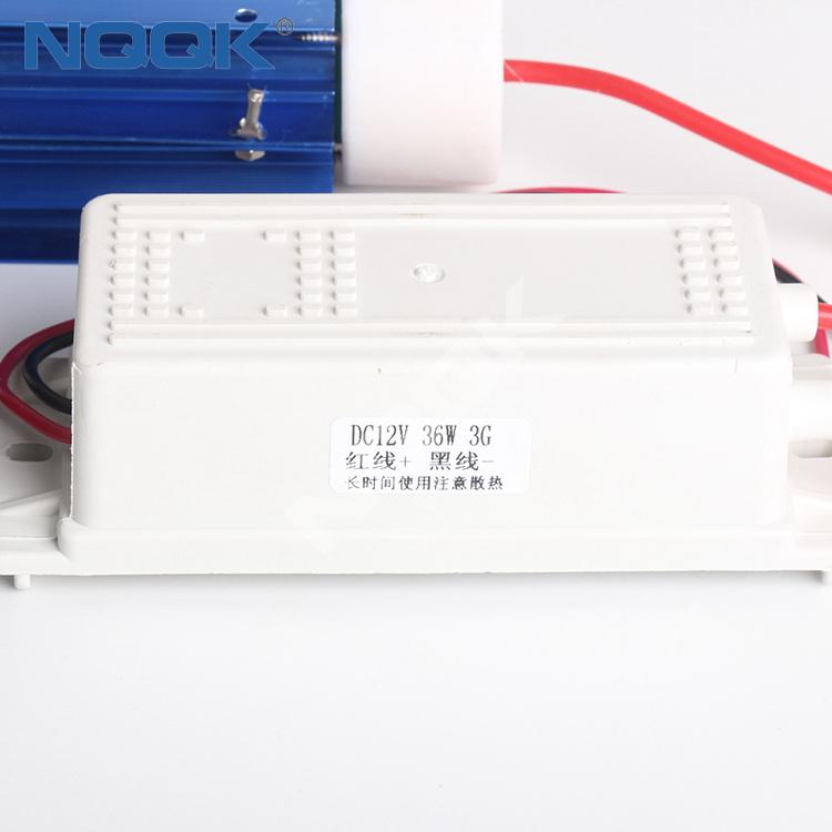 3G 12VDC Quartz Tube Ozone Generator