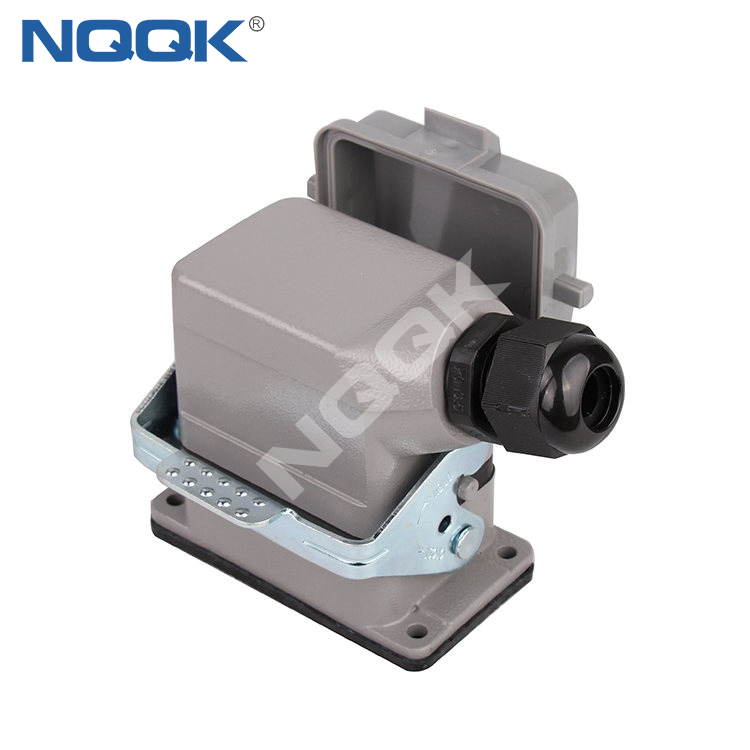 Male and Female HE series 6 Pin Heavy Duty Connector