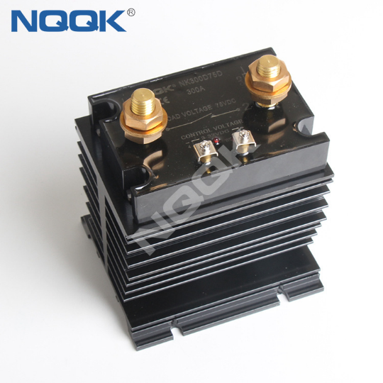 300A 500A Single Phase DC DC SSR Solid State Relay