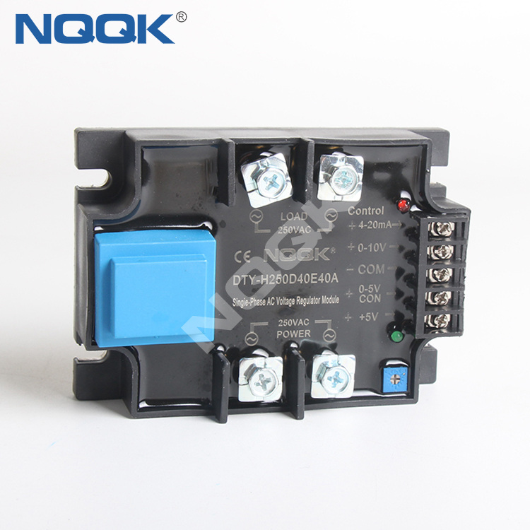 Single phase intelligent AC voltage regulation module SSR Solid State Relay