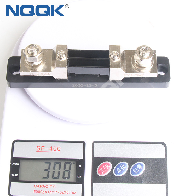 TS-3 USA type Voltmeter Ammeter DC current Manganin shunt resistor