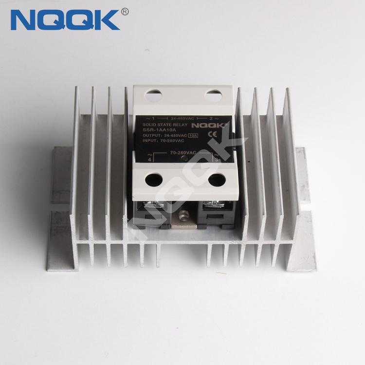 W-110 nqqk Heat sink heatsink for solid state relay