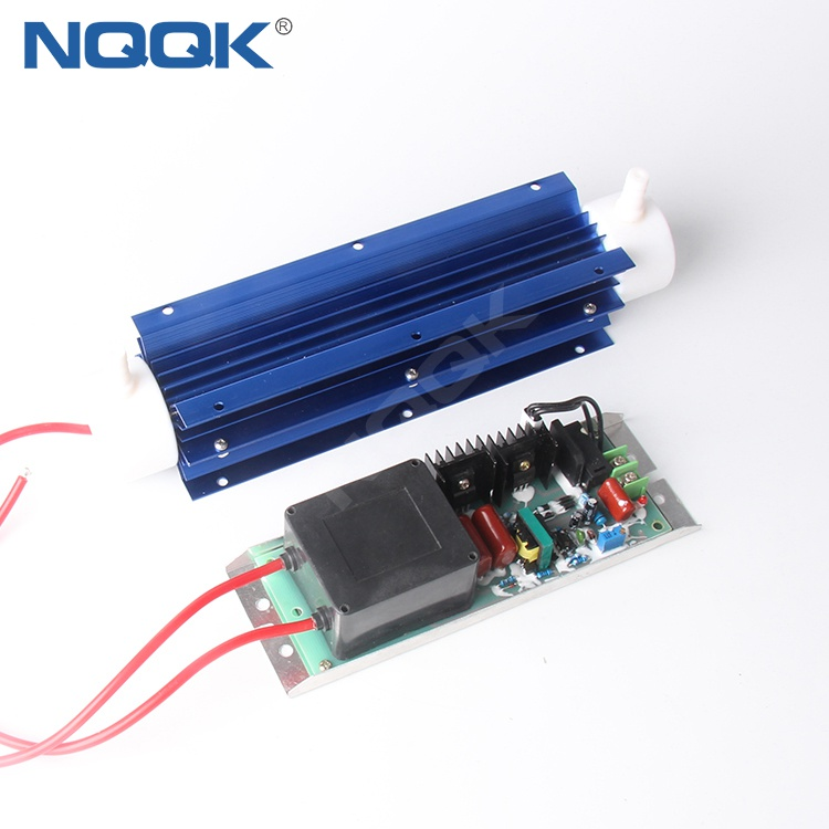 10g 220v Power 80w Power Supply Adjustable Quartz Tube Ozone Generator with Temperature Control