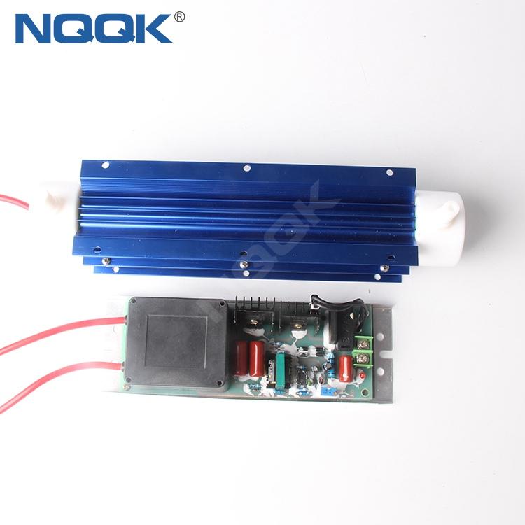 10g 220v Power 80w Power Supply Adjustable Quartz Tube Ozone Generator with Temperature Control