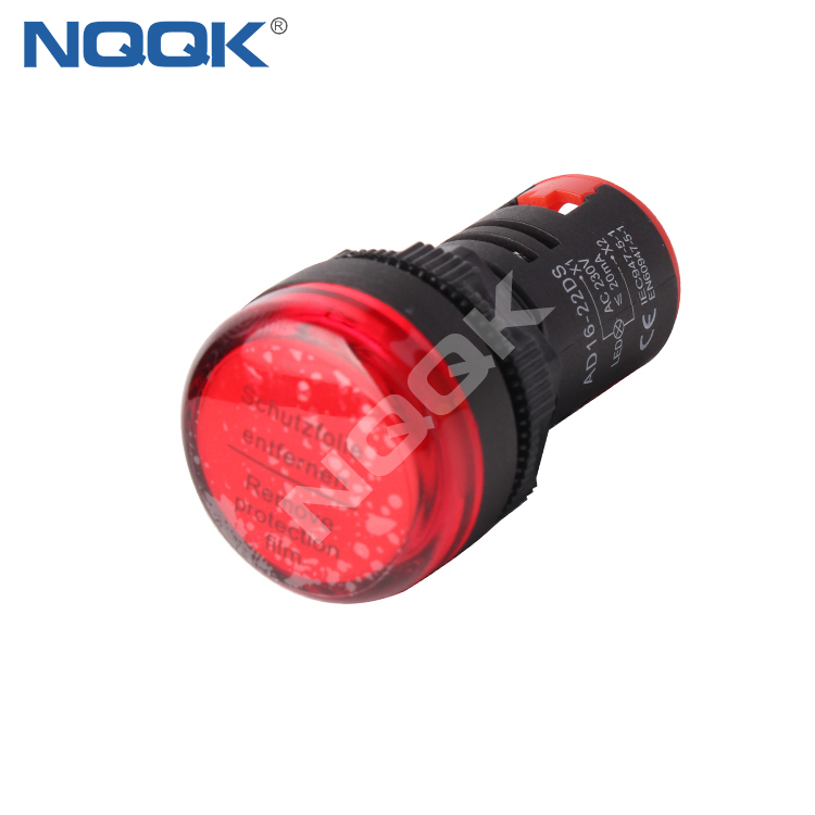AD16-22DS 16 mm 22 mm White Green Red Yellow Blue 16V 12V 24V 220V LED Light Signal Indicator lamp
