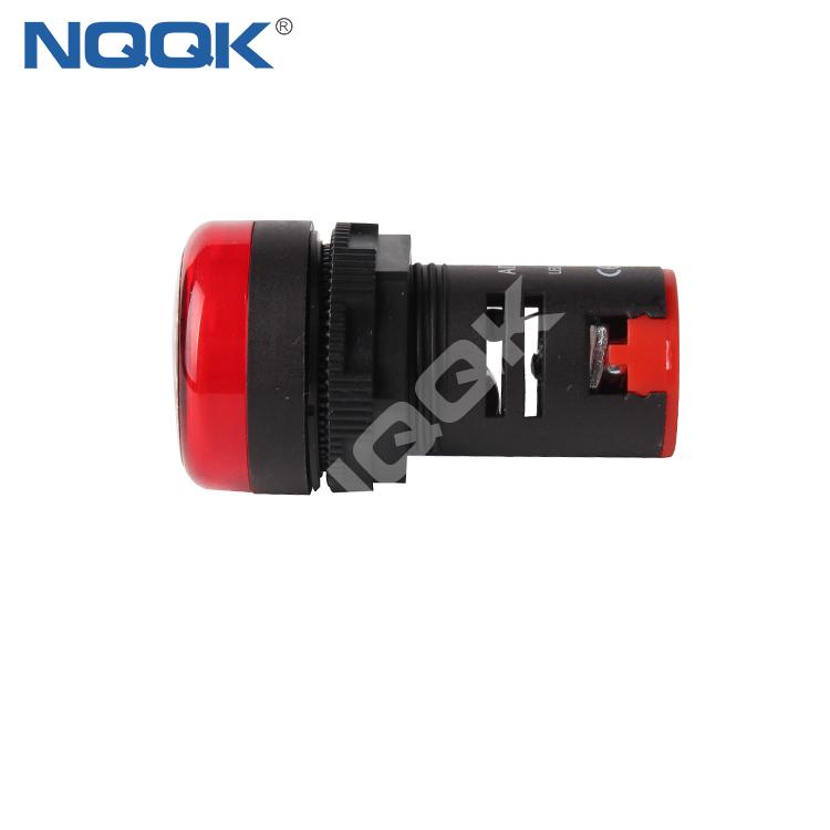 AD16-22DS 16 mm 22 mm White Green Red Yellow Blue 16V 12V 24V 220V LED Light Signal Indicator lamp