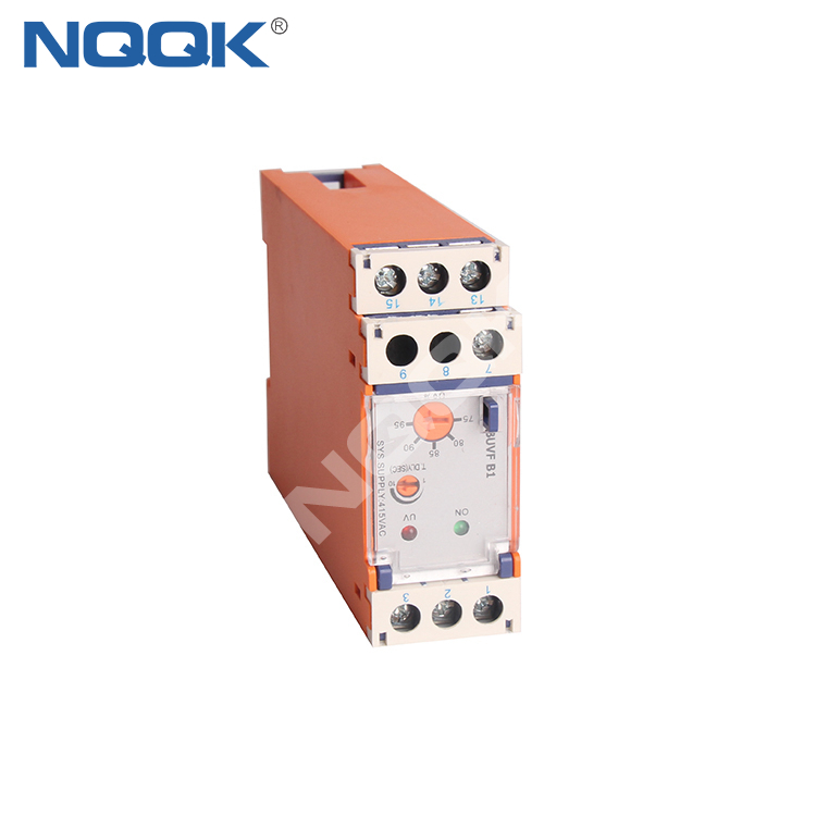 BUVF B1 3 Phase 4 Wire under Auto Reset Voltage Monitoring Relay