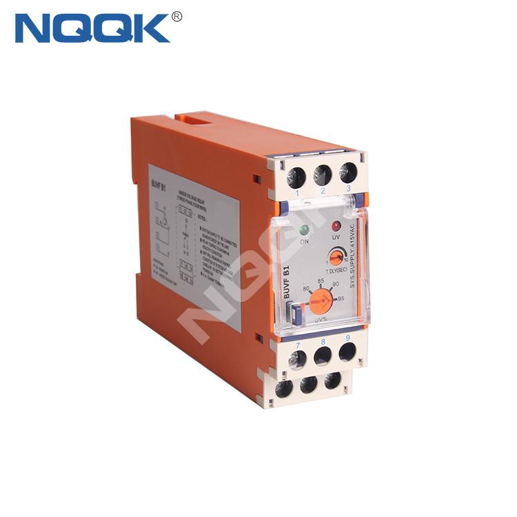 BUVF B1 3 Phase 4 Wire under Auto Reset Voltage Monitoring Relay