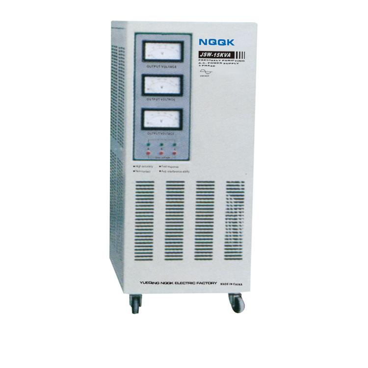JSW 15KVA Precision Purified 3Phase Series Voltage Stabilizer Regulator
