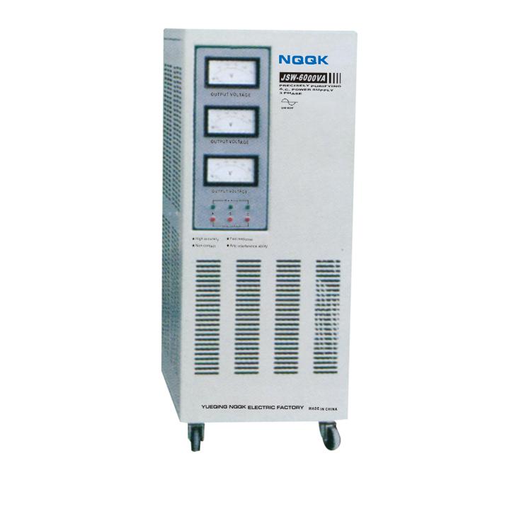 JSW 6KVA / 9KVA Precision Purified 3Phase Series Voltage Stabilizer Regulator