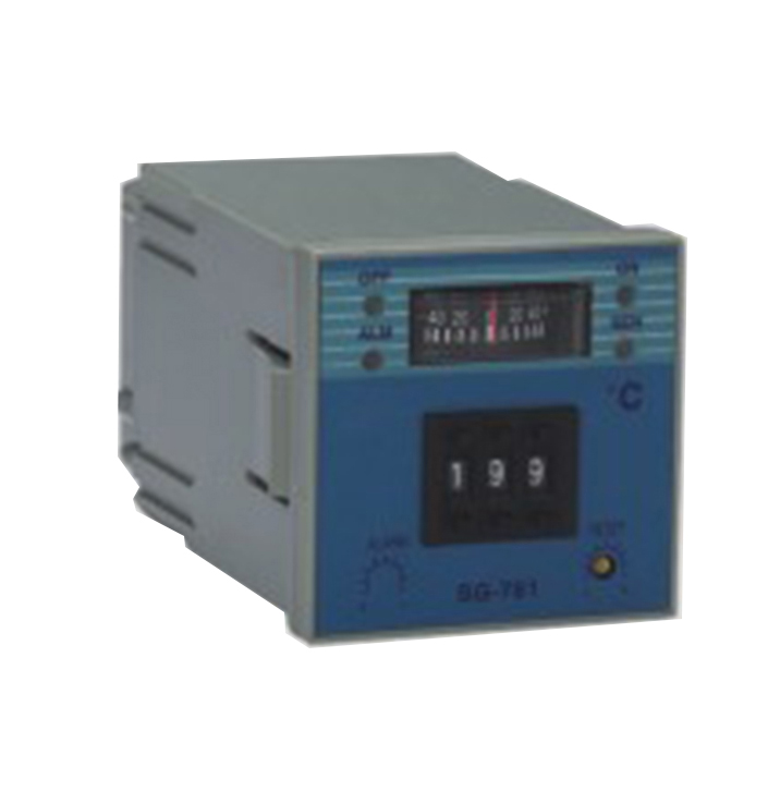 SG-761 72mm K J PT100 sensor adjustion Digital Industrial Temperature Controller for plastic rubber packing machinery