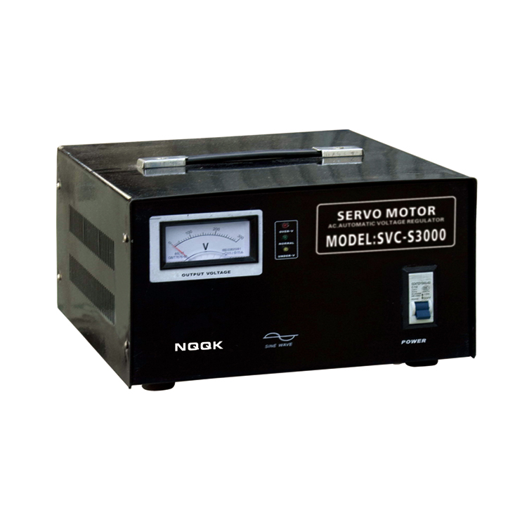 SVC-S 2KVA / 3KVA Super-thin Type 1Phase Series Voltage Regulator Voltage Stabilizer