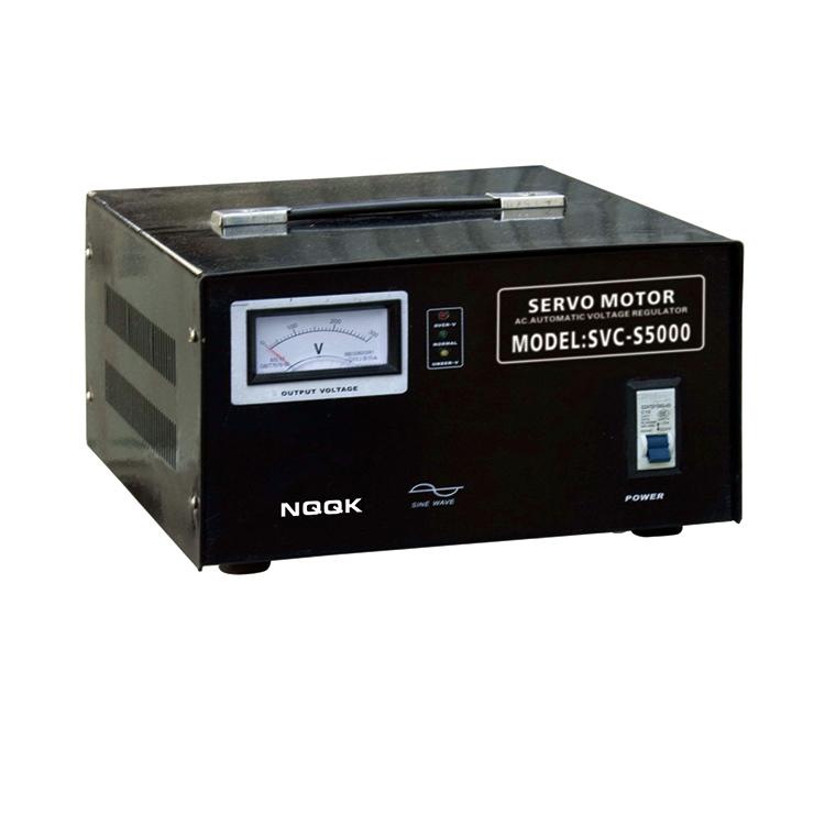 SVC-S 5KVA / 10KVA Super-thin Type 1Phase Series Voltage Regulator Voltage Stabilizer