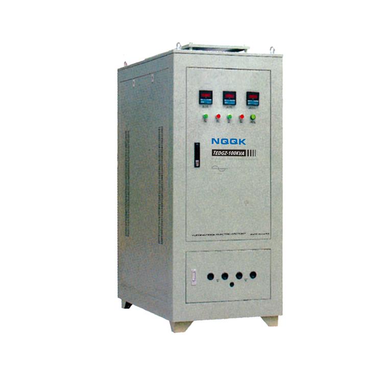 TEDGZ 16KVA 125KVA High Power Post Type 1Phase Voltage Regulator