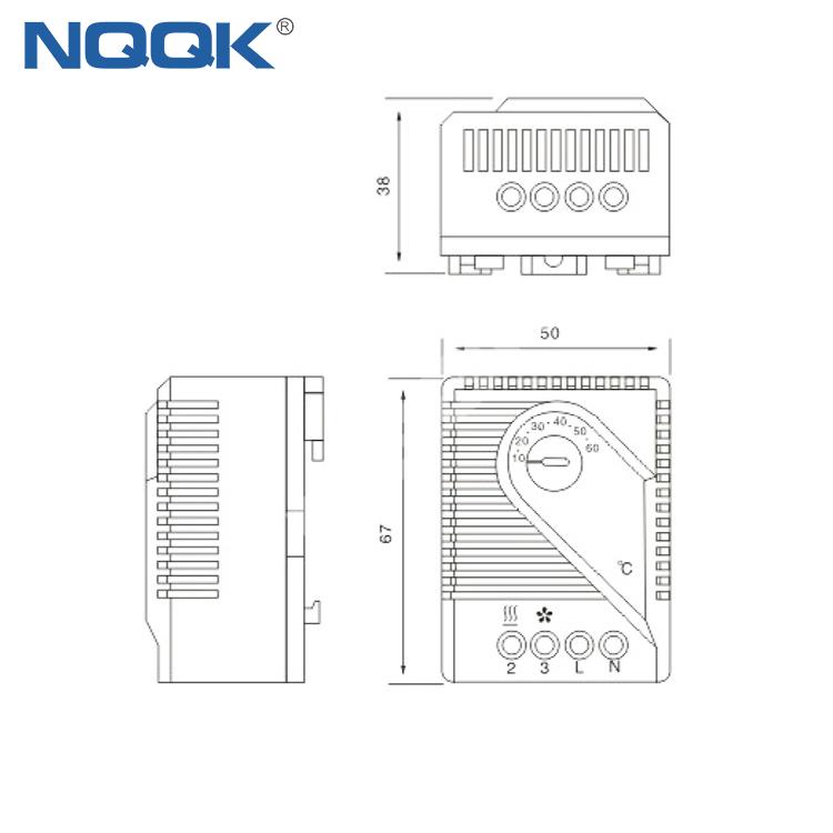 FZK 011 Mechanical Thermostat