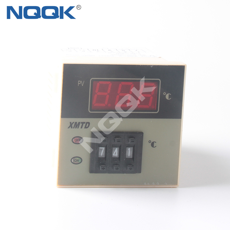 XMTD-2201 2202 thermocouple RTD voltage resistance current silicon time adjusting Industrial digital Temperature Controller