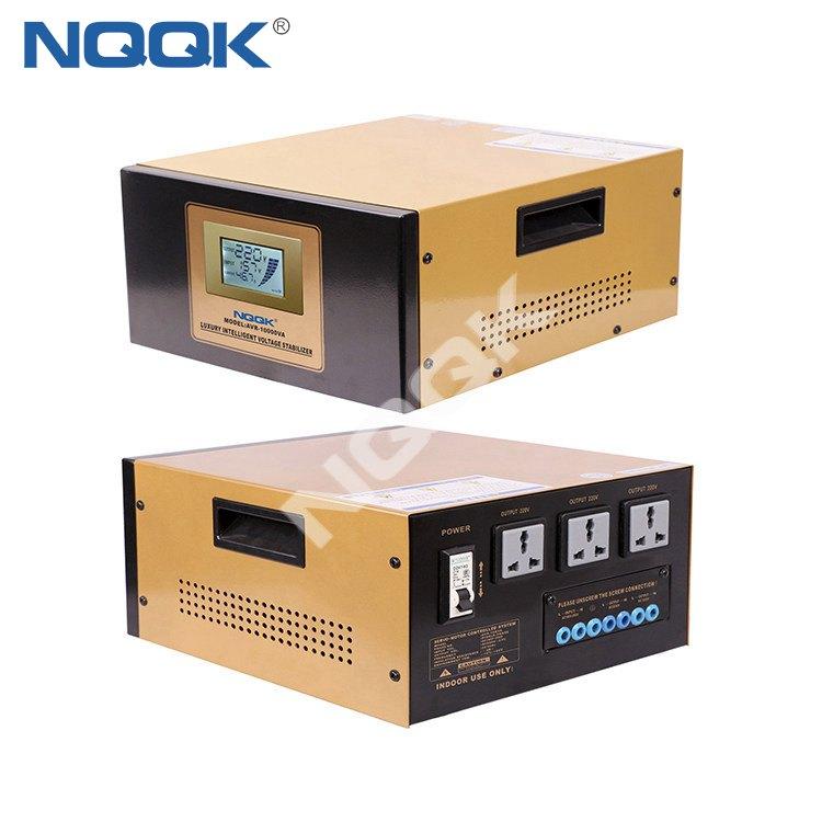 AVR 10KVA 10000va Servo Type 1 Phase Series Voltage Regulator Voltage Stabilizer
