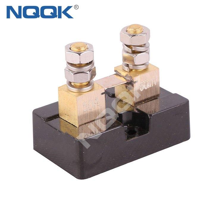 FL USA type 50A 50mV DC brass Electric current Shunt Resistors for Ampere Panel Meter