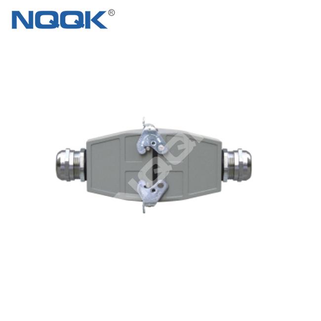HDC-HE-16/4-06D 500V Industrial rectangular heavy duty connector