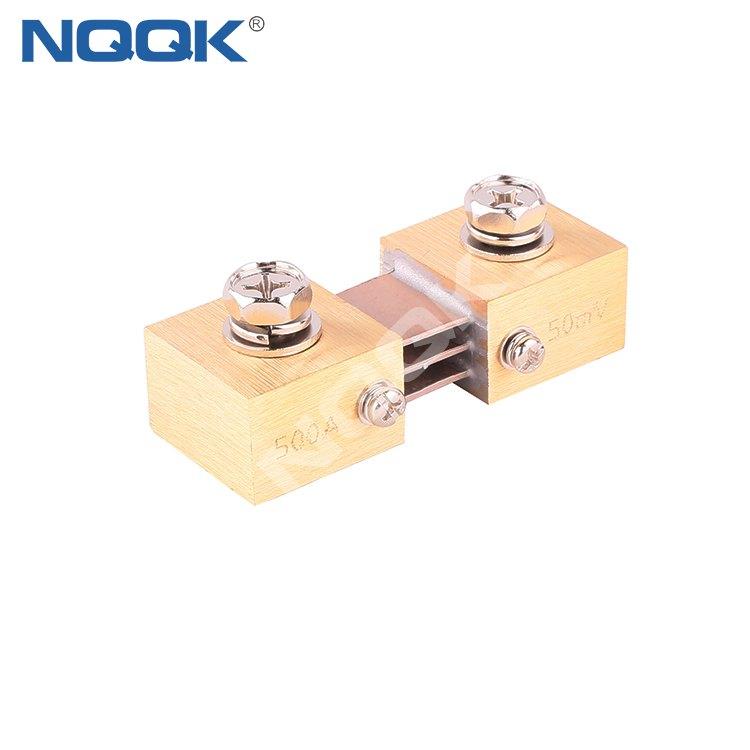 NQQK FL-CR 500A 50mV DC Shunt Resistors for Amp Panel Meter Current Monitor