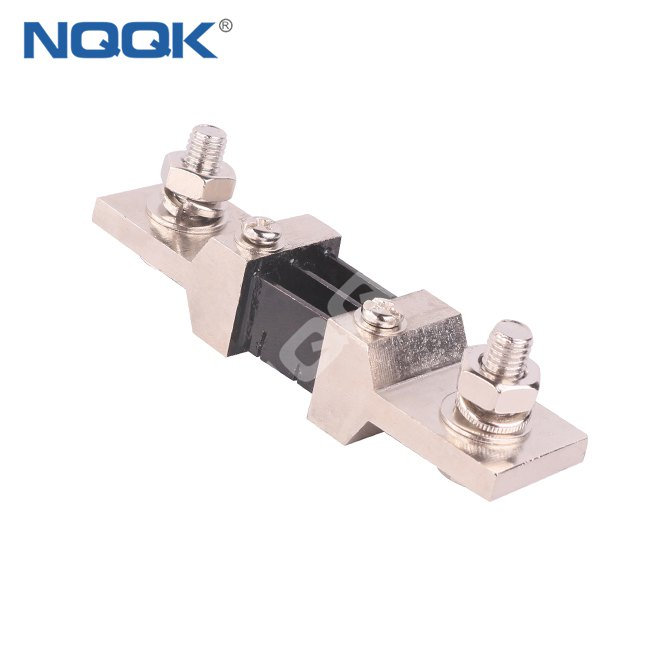 nickel plating dc current resistance shunt Resistor of 300A 55mV for aerospace