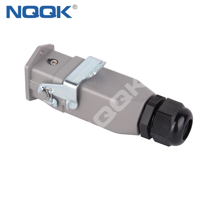 HDC 3 pin 3 wire top entry waterproof heavy duty industrial connector For Power field