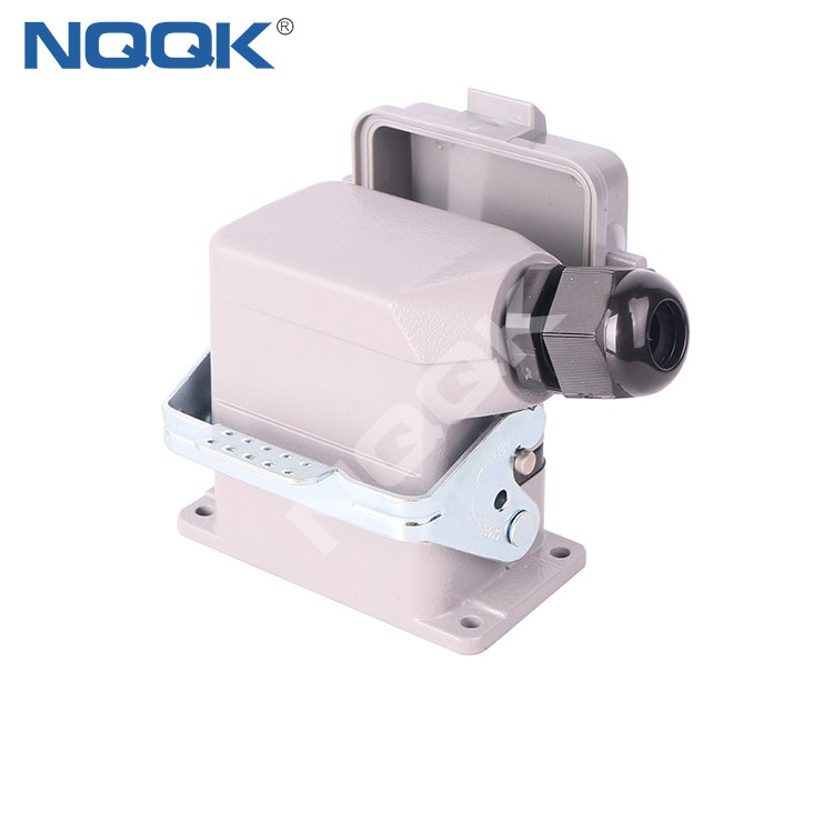 NK1179 Copper Alloy Material Industrial 6 12 24 32 36 Pins Current16A Voltage 500V Heavy Duty Connector