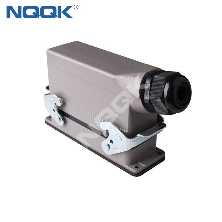 H24B-AD-B0 H24B-SGR H23B-TS 24 pole pin heavy duty industrial connector