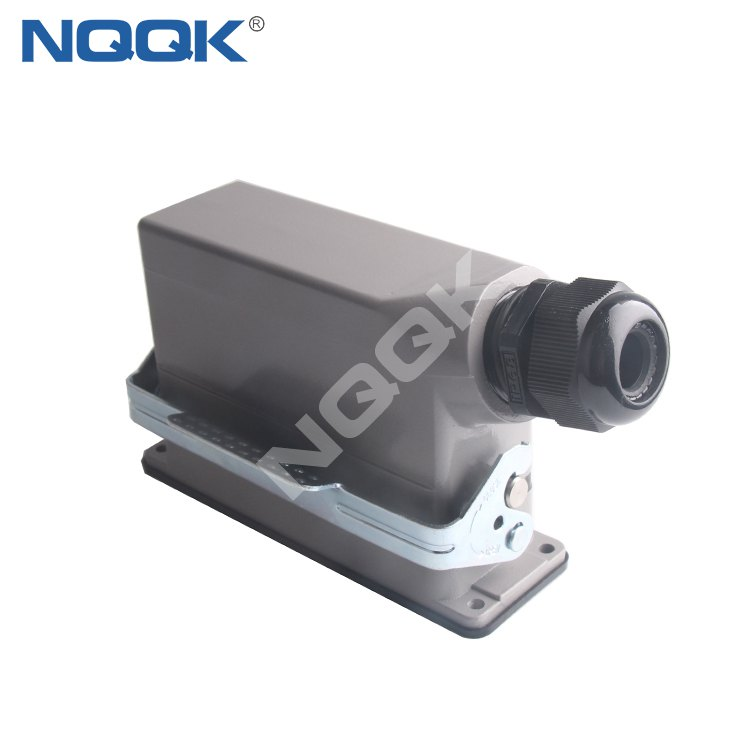 HDC-HE-024-01D 24 pin heavy duty sockets connector with 1 levers