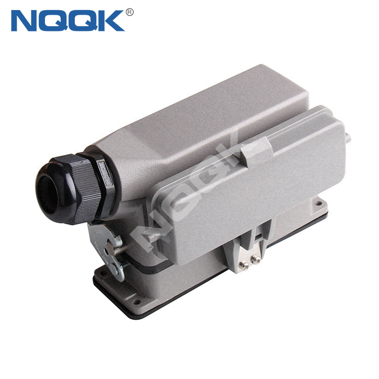 24 pin rectangle heavy duty industrial connector manufacturers