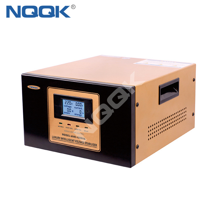 AVR 1KVA / 1.5KVA Servo Type 1Phase Series Voltage Regulator Voltage Stabilizer
