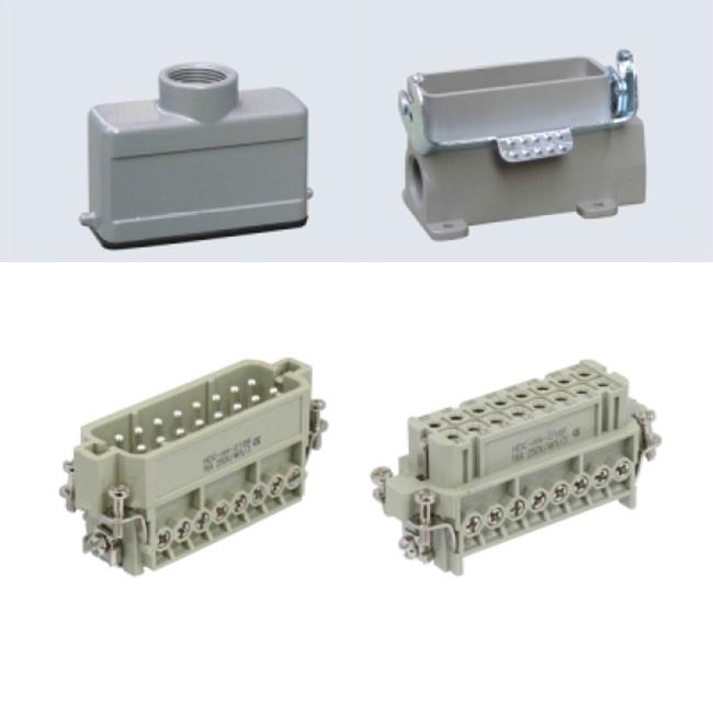 16 pin silver heavy duty sockets heavy duty connector