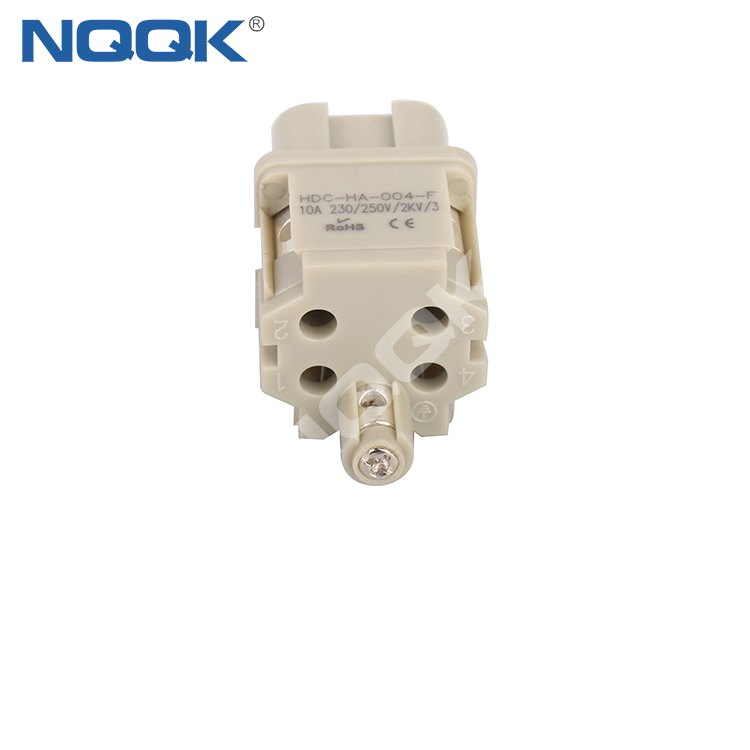 HA-004-F 4 pin waterproof heavy duty industrial connector for Electrical connection