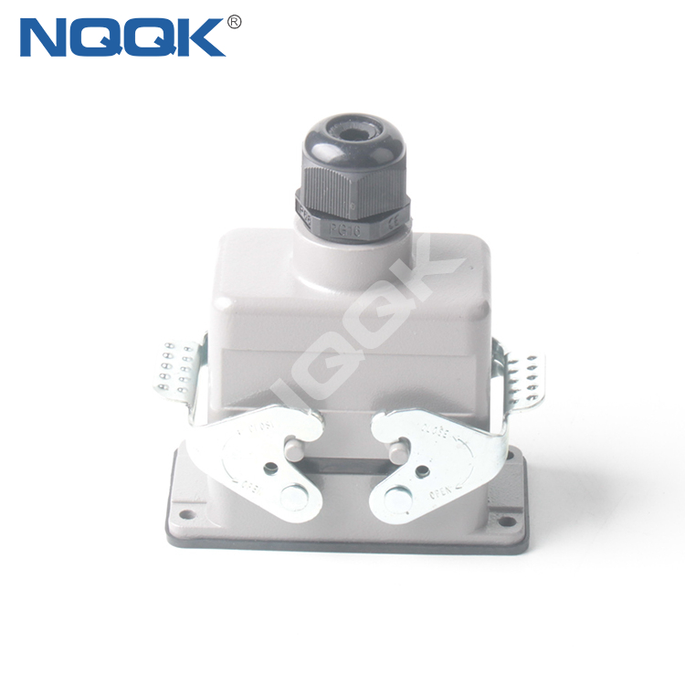 HDC-HE-010-02S HDC HE 10 way pin heavy duty connector