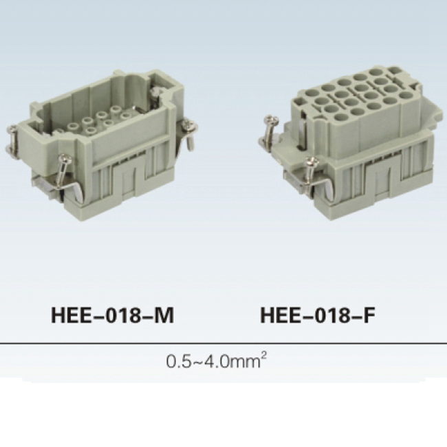 HK6/6-012-M 12pin 6/6 male female connector Heavy Duty Electrical Connectors