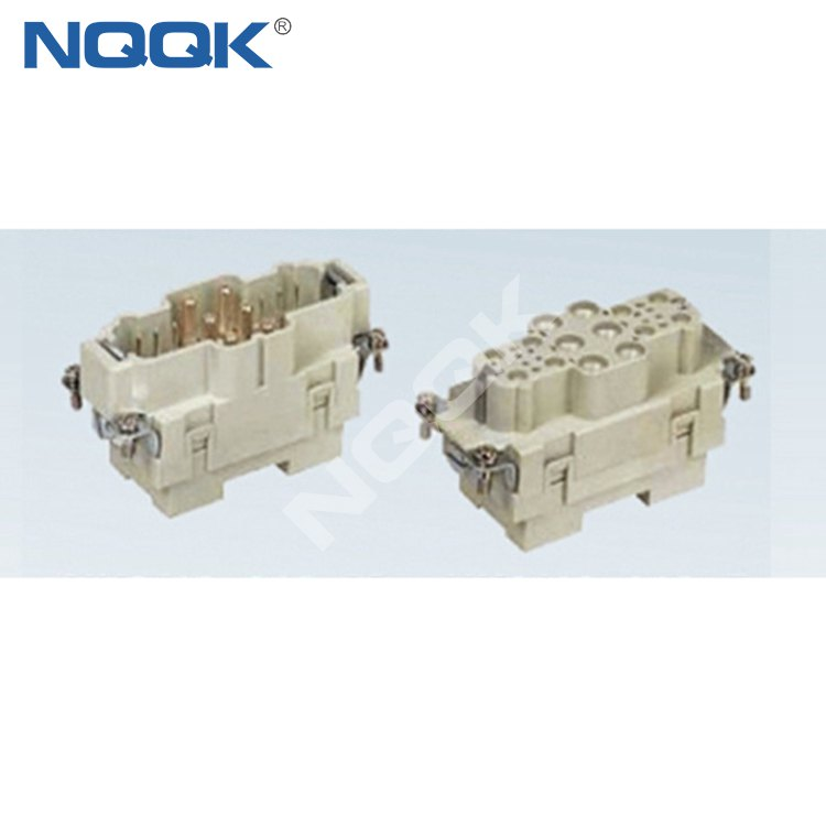 HK6/12-018-M 40A 690V industrial 6/12 18 pin male female connector Heavy Duty Electrical Connectors