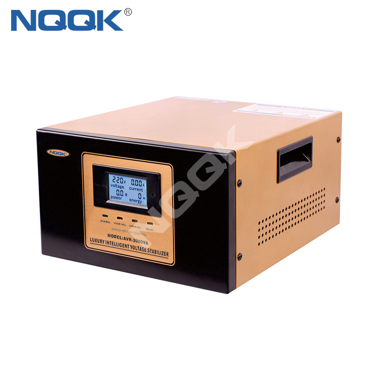 AVR 2KVA Servo Type 1Phase Series Voltage Regulator Voltage Stabilizer
