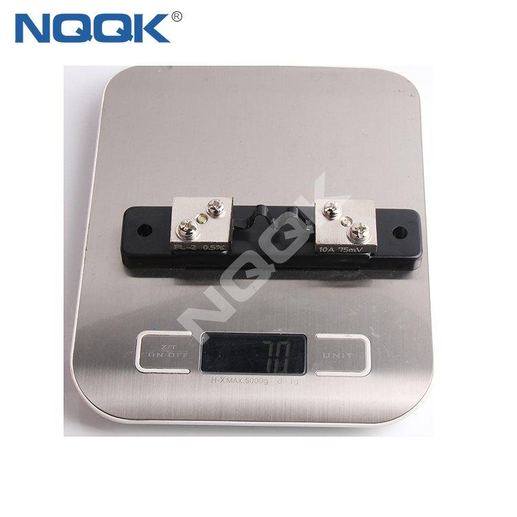 DC 10A 75mV Electric current Shunt Resistors current vmanganin shunt for Amp Panel
