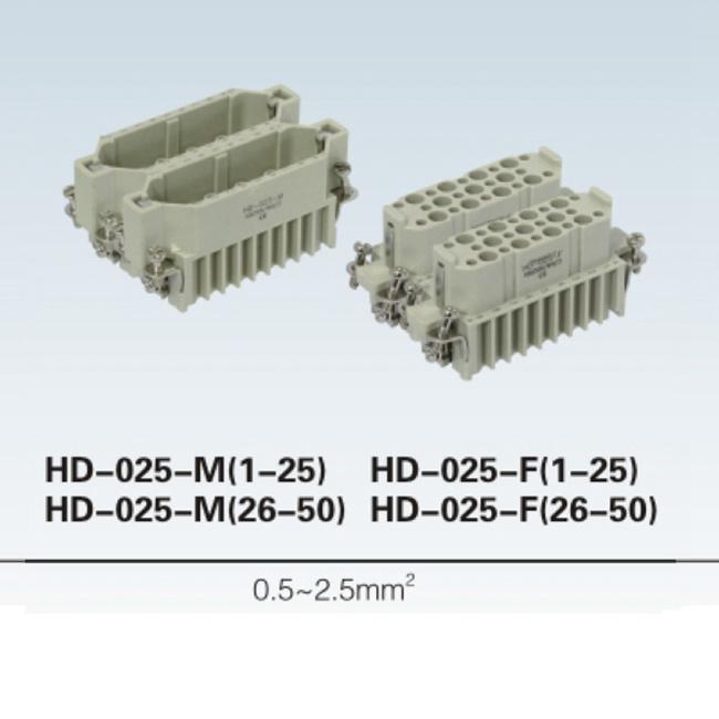 HD-040-M HD-040-F HA Screw terminal 80 pin heavy duty Connector