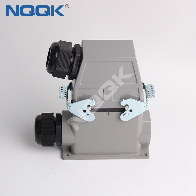 (HDC-HE-016-03S) 16 pins Housings Hoods and Inserts heavy duty sockets connector