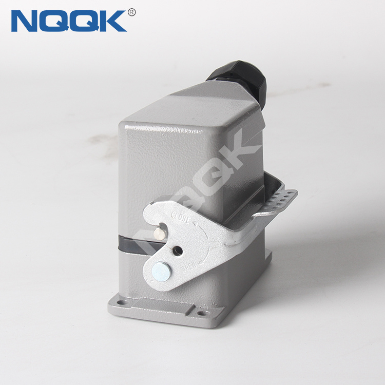 6 pin pole H6B-TS H6B-TG H6B-AG-LB heavy duty sockets connector