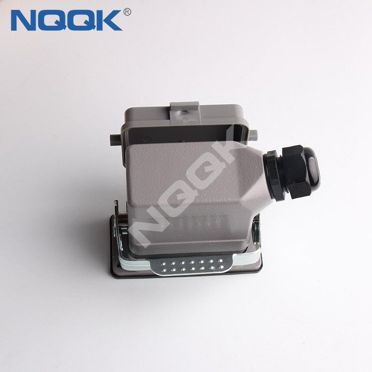 HDC-HE-010-04D 10pin heavy duty sockets connector hdc